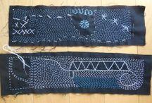 kantha. stitching
