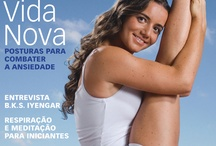 Capas Yoga Journal / by Yoga Journal Brasil