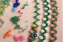 LITTLE FLOWERS WITH BEADS