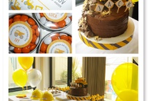 Noah's 3rd birthday party ideas / by Sarah Young