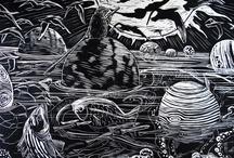 Margaret Peot Woodcuts