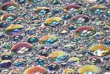 Crystal walls and mirrors