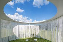 Architecture pavilions