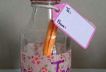 Teacher's Day DIY gifts