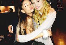 Ariana and olivia / Ariana grande and Olivia holt