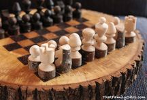 Game Pieces / Chess sets and other games