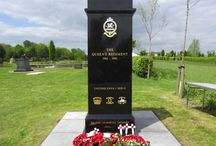 "The Queen's Regiment Memorial / The National Memorial Arboretum Dedicated 15 May 2015 ""To The Immortal Memory"""