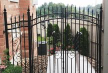 Yard Gates / Roma Fence carries a wide variety of yard gates to fit your backyard.