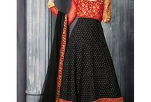 Anarkali Suits / India's most favourite and special occasion dress. Find the fresh collection of designer Anarkali suits.