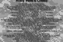 Army Wife / by Lindsey Samardzija