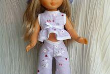 vêtements de poupées-patrons