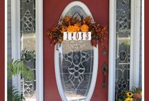 Decor pe Ușa