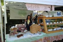 Petunia's About Town / Farmer's Markets, Fairs and events!