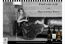Our first ad campaign for the winery / We are so lucky to have won 3 free months of advertising on the Alberta liquor portal, Liquor Connect. We have developed our first ad for the winery!!!!