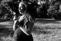 PHOTOS NOIRS ET BLANCS : FEMMES ENCEINTES