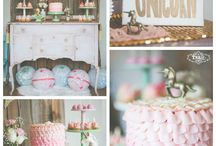 Unicorn Baby Shower Ideas / Inspiration for throwing a unicorn baby shower