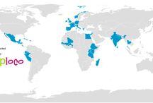 paises visitados