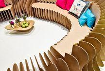DIY CARDBOARD CREATIONS / by Cheryl Martin