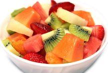 ensaldas de frutas
