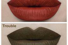labiales y Maquillajes