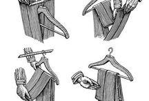 hanging cloths