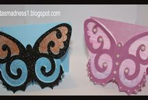 Damask Decor Cartridge / Projects made with Cricut Damask Décor cartridge