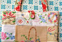 vintage purse embroidery