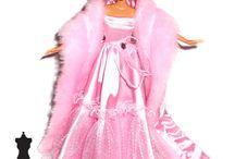 Fashion Dolls / Dresses / Projects dresses from My Fashion Dolls World
