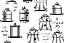birdcage tattooDraw