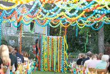Téma: Fesztivál - Festival Wedding Ideas
