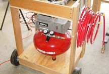 Compressor en nietmachine opslag