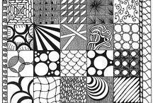 Zentangle and Doodles / Zentangles, doodles and quick sketches etc.