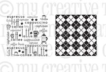 Coffee Backgrounds / Inspiration for this stamp set! / by My Creative Time