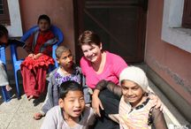 Summer Volunteer Nepal / View Pics of volunteers who worked in #Summer #Volunteering #Placement in Nepal with #VolunteeringSolutions / by Volunteering Solutions