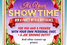 #JBShowTime / It's showtime!!  WIN an amazing prize of a personal chef and outfits for you and 5 friends by simply uploading your festive pics using the hashtag #JBShowTime  + spot prizes every week!  Full details here> http://bit.ly/1H7sctm / by Joe Browns