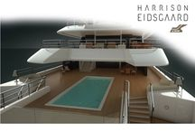 CRN Yachts - 86m Project / CRN presents its new project, an 86-metre Explorer Yacht designed by Harrison Eidsgaard.  This new innovative and dynamic 86-metre Explorer Yacht embodies CRN's DNA while also epitomising the cutting-edge style of Harrison Eidsgaard, one of the leading international yachting design firms.