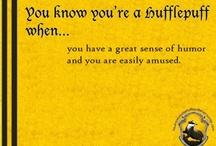 hufflepuff all the way