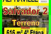 Lotes/Terrenos a venda em Alphaville Salvador 2, Salvador, Bahia / Lotes e Terrenos a venda em Alphaville Salvador 2 em todas as etapas e setores do condomínio, com topografias e dimensões variadas. Marque sua visita e venha conferir!!!!  Mais detalhes entre em contato com:  Claudio Borges  +55(71)3494-7843 +55(71)99970-6866 Vivo +55(71)98203-0006 Claro +55(71)99297-9846 TIM +55(71)98758-5793 Oi +55(71)99911-1102 WhatsApp