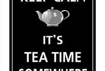 Tea cups and stuff / Tea