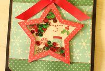 Ideas para tarjetas de navidad <3