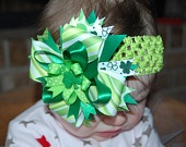 St Patricks Day - Hairbow / by April Housel