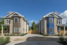 The Leverington Mews / For those looking for their own little oasis from the hustle and bustle of city life, the Leverington Mews, built by Vaughan Buckley Construction, is a rare treasure.