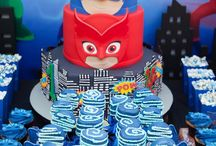 PJ Masks party printables / ideas for invites and other cool things I have seen