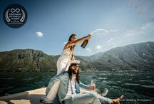 Wedding photoshoot Lake Como / If you take a look at one of Como Lake Villas and their surrounding scenery you'll realize they would be a perfect location for a destination wedding in Italy: in this gallery you'll see how our team of experienced photographers was able to capture the essence of a true romantic wedding ceremony in Italy, in its most exclusive location of Villa Balbianello, pearls of Como Lake. The party took place at Lido di Lenno.