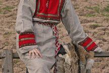 viking and slavic clothing