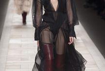 Black lace or similar