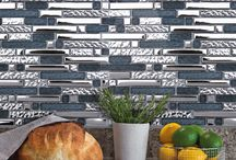 Mosaïques Alu'Emoi | DMD Europe / Une gamme de mosaïques composée de mélanges entre Aluminium, Chrome et Verre pour le revêtement mural intérieur.