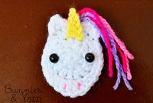 crochet. unicorns.