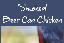 Cooking in a smoker