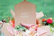 My Picnic Wedding Ideas / My partner and I are looking at having a picnic wedding with no more than 30 guests (if it's that many) and these are the things I like!